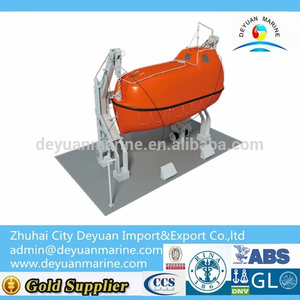 25KN Inverted Arm Gravity Davit