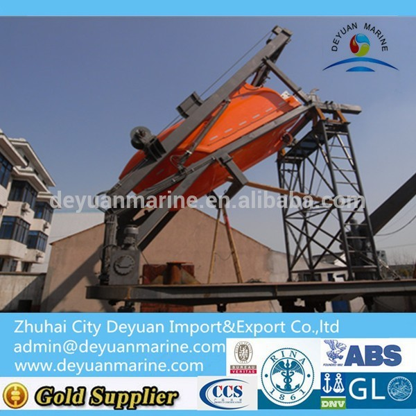 Telescopic Type Davit Device With Marine Certificate