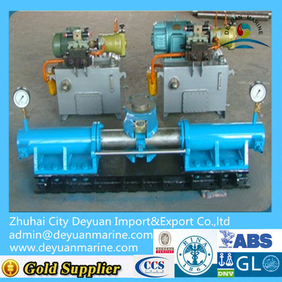 Compact design ship hydraulic steering gear with CCS certificate