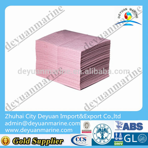 40*50 CM Hazchem Absorbents oil absorbent pads papers For Hot Sale