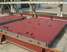 4500DWT Container Hydraulic Hatch cover system