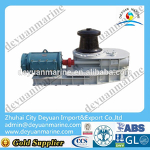 ABS/CCS/BV class approval Marine Vertical electric capstan winch