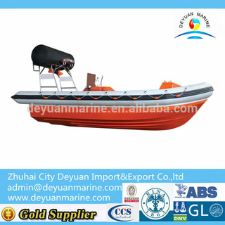 High Quality Inflatable Fender Fast Rescue Boat For Sale