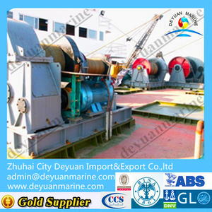 200KN Electric Mooring Winch for Ship
