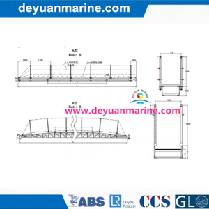 Aluminium Gangway Ladder for Ship