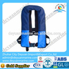 Marine automatic inflatable fishing vest