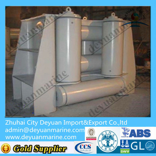 marine mooring four roller fairlead opening and closing type BA type