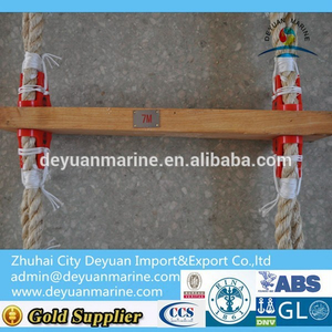 Pilot rope embarkation ladder Marine Folding Rope Ladder With High quality