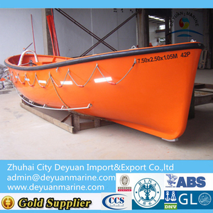 Glass Fiber Reinforced Plastic Open Type Lifeboat