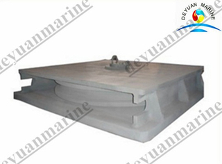 Marine mooring Horizontal lead sheave fairlead