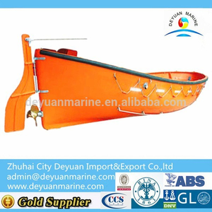 Manual Open Type Lifeboat Apprval By CCS&EC