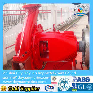 Horizontal Centrifugal External Fire Pump For FIFI System