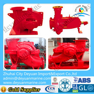 External fire pump for fifi system