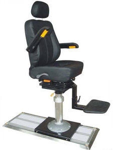 Square Tube Stand Hydraulic Lifting Marine Pilot Chair