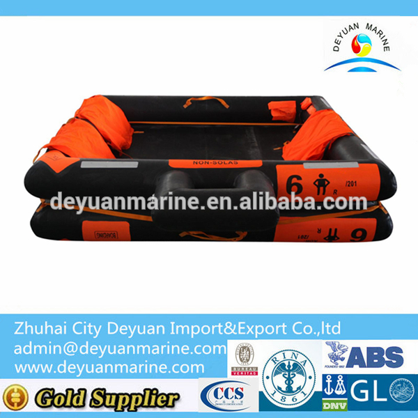 6 Man Open-Reversible Inflatable Liferaft