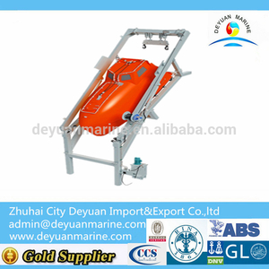 55KN Working Load Free Fall Life Boat Launching Device