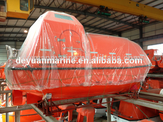 6-80 Person F.R.P Free Fall Lifeboat Totally Enclosed boats for sale