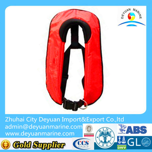 Solas DY708 manual inflatable lifejacket