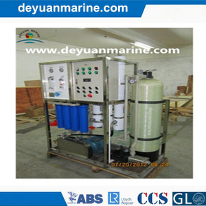 Seawater Desalting Plant for Marine Used
