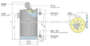 QXC-type Oil-fired Vertical Thermal Fluid Heater with High Quality