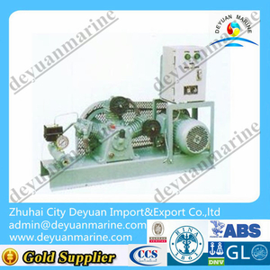 Two-stage Marine air cooling piston type air compressor