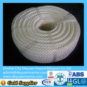 High quality Marine Polyester mooring rope for sale