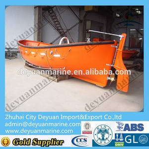 Open lifeboat Type FRP Life boat For All Ship