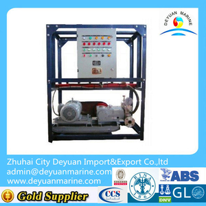 High Pressure Water-base Fire Extinguishing System for Ship