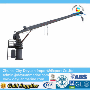 Single Arm Hydraulic Slewing Davit Crane For Lifeboat And Life Raft