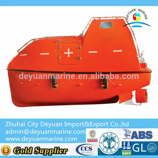 High Quality F.R.P Totally Enclosed Life Boat For Sale