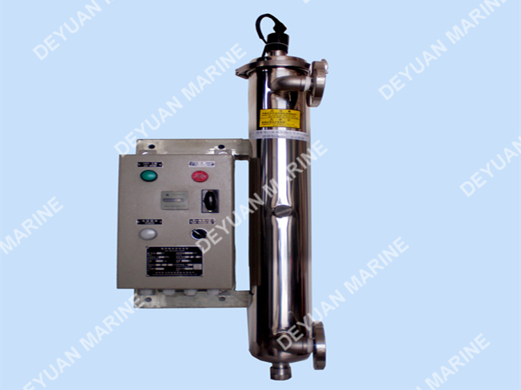 Marine UV Sterilizer Silver Ion Sterilizer Water Filter for Ship