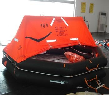 SOLAS Approved CCS Type EC Type Inflatable Rubber Liferaft