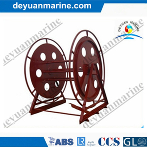Marine Shore Connection/Closeup Cable Reel with Handle