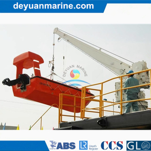 Single Arm Rotary Boat/Raft Davit