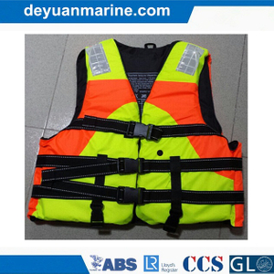Customize Solas Approved Foam Lifevest Personalized Marine Working Life Jacket for Sale