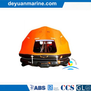 50 Person Self-Righting Inflatable Life Raft