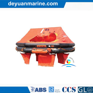 Davit-Launched Self-Righting Inflatable Liferaft
