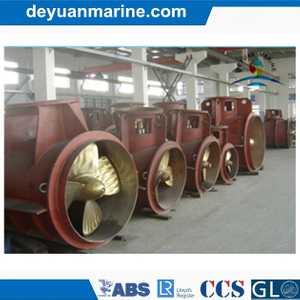 Controllable Pitched Tunnel Bow Thruster