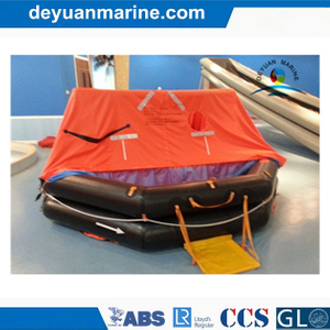 6 Man Throw-Overboard Inflatable Life Raft