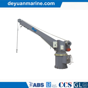 Rescue Boat Single Arm Hydraulic Slewing Davit