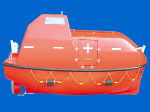 Fiber Glass FRP Totally Enclosed Type Used Free Fall Lifeboats for Sale