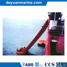 Inclined Single Chute Passage Marine Evacuation System