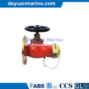 90° Flanged Fire Hydrant with Good Quality