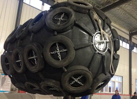 Salvaging Ship Airbags Marine Foam Filled Fender Pneumatic Rubber Fenders Cargo Carrying Airbag for Sale