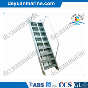 Steel Marine Inclined Ladder/Marine Step Ladder