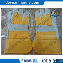 Industrial Leather Hand Gloves Ship